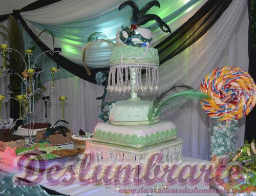 Tortas decoradas para bodas y cumpleaños