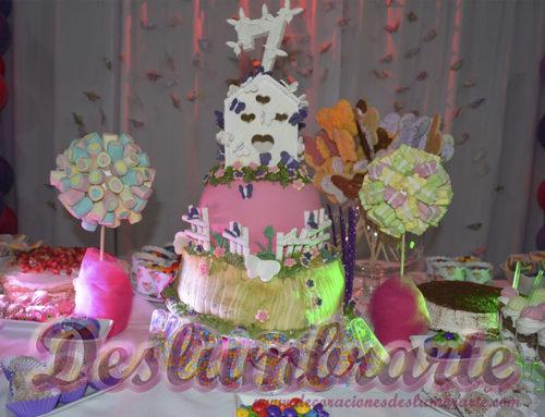 7 años dulces y mariposas (petit decoración)