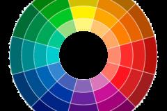 Rueda cromática para combinar colores en una decoración