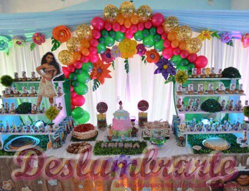 Fiesta infantil temática MOANA