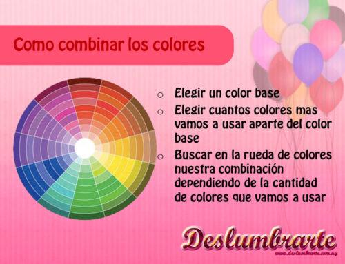 Como combinar los colores de los globos