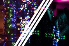 Las luces en una decoración vs luces en un baile