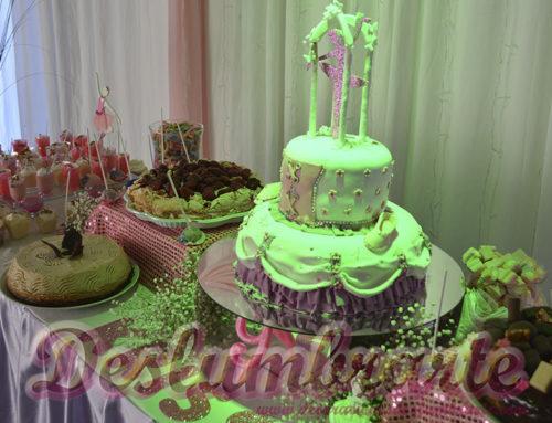 Decoración para fiesta sorpresa temática Bailarina